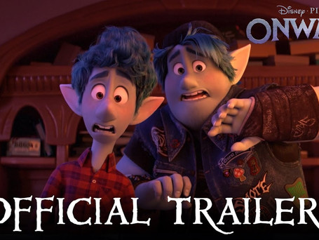 """CHECK OUT THE NEW POSTER & TRAILER FOR """"ONWARD""""!"""
