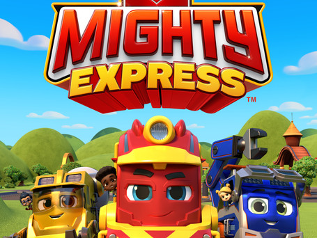 SPIN MASTER'S 'MIGHTY EXPRESS'™ TRAILER DEBUT