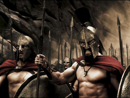 EPIC '300' RETURNS HOME 4K ULTRA HD BLU-RAY COMBO PACK THIS OCTOBER!