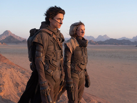 THE FIRST 'DUNE' TRAILER IS HERE!