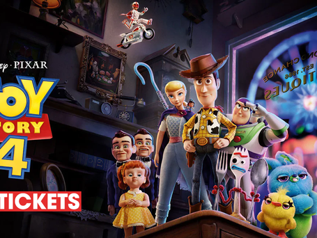 """""""TOY STORY 4"""" TICKETS ARE NOW ON SALE!"""