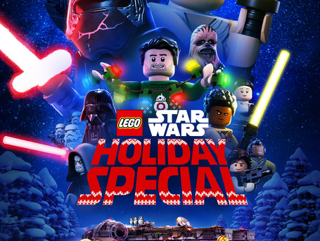 """""""LEGO STAR WARS HOLIDAY SPECIAL"""" TRAILER ARRIVES, COMING TO DISNEY+ NOVEMBER 17!"""