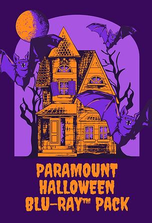 Orange and Purple Vintage Horror Virtual