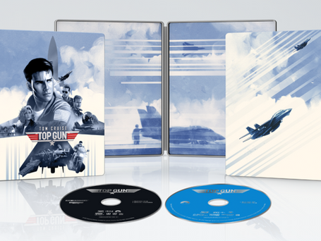 THE ACTION-PACKED THRILL-RIDE TAKES OFF IN A LIMITED  4K ULTRA STEELBOOK