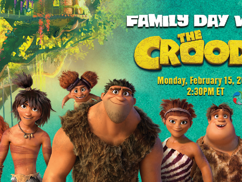 FAMILY DAY WITH THE CROODS! - Museum of Nature Facebook Live event!