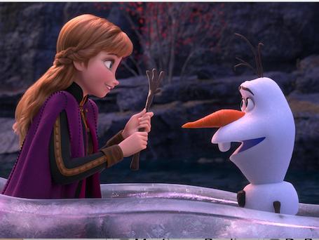 "ELSA, ANNA & OLAF return in ""FROZEN 2"""