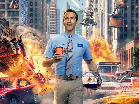 Check out Ryan Reynold's new film, FREE GUY!