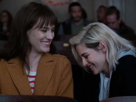 FIRST LOOK  AT KRISTEN STEWART'S NEW HOLIDAY ROM-COM 'HAPPIEST SEASON!