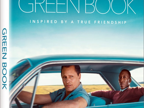 Universal has set Peter Farrelly's Green Book for release on Blu-ray, DVD, and 4K Ultra HD on 3/12.