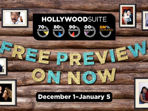 HOLLYWOOD SUITE TREATS CANADIANS TO A FREE PREVIEW FOR THE HOLIDAYS