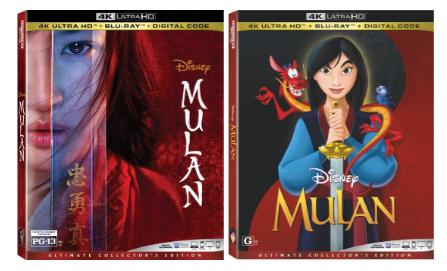 ON NOVEMBER 10, DISNEY'S LIVE-ACTION 'MULAN' COMES TO 4K ULTRA HD™, BLU-RAY™ & DVD