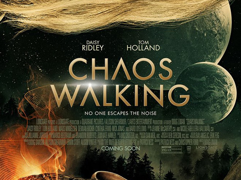 """CHECK OUT THE TRAILER """"CHAOS WALKING"""", STARRING DAISY RIDLEY & TOM HOLLAND!"""