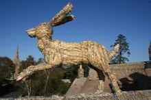 Straw Running Hare