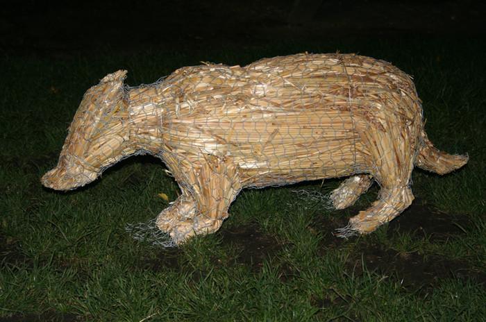 Straw Badger
