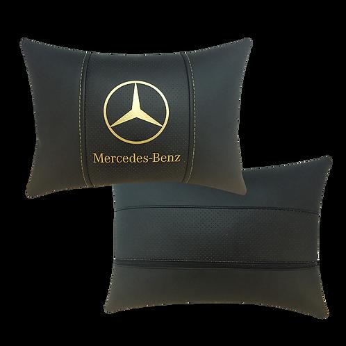 """Автоподушка """"Mercedes"""" золото"""