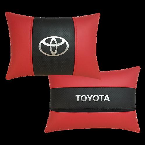 """Автоподушка """"Toyota"""" красная"""