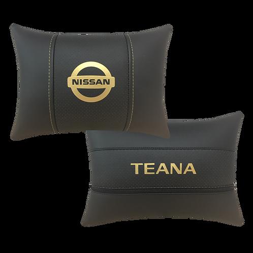 """Автоподушка """"Nissan Teana"""" черная"""