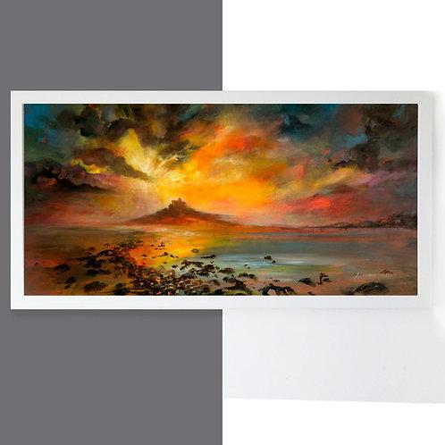 St Michaels Mount Large Canvas Print