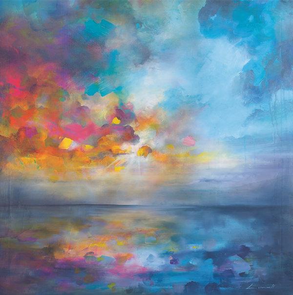 lloyd mitchell art magical realism paint