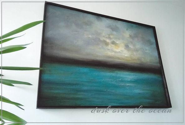 Dusk over the Ocean by Lloyd Mitchell