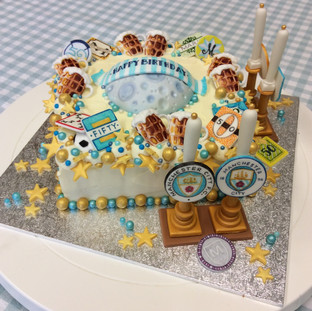 A birthday cake for a real ale fan