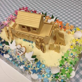 A Baptism Cake