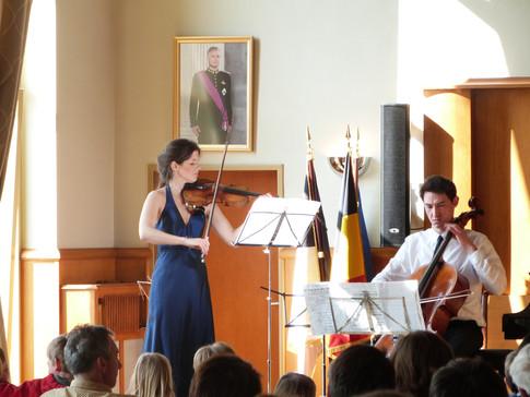 Camille Babut du Mares et Kacper Nowak