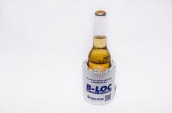 Custom shaped can / bottle cooler