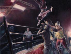 Lucha Libre, 2018, Cyelowyn Willey