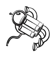 Spaceman Vector