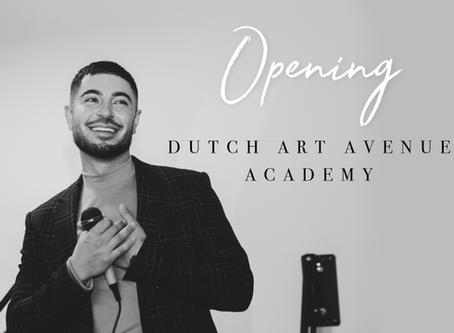 PHOTO GALLERY: OPENING DUTCH ART AVENUE ACADEMY