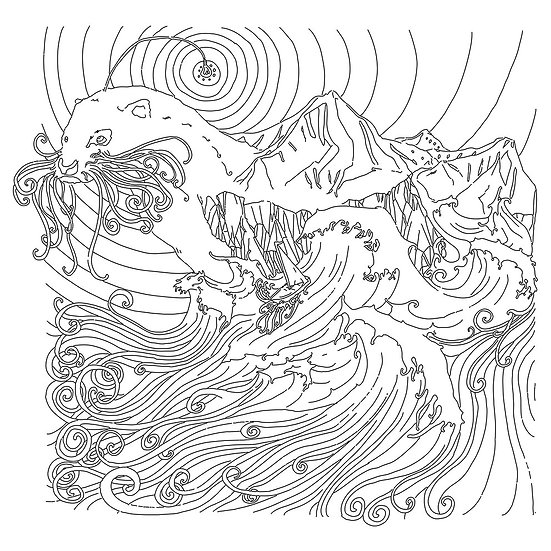 Otter-Worldly Colouring Sheet!