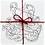 Thumbnail: Festive greetings cards pack - Treetopus colouring in