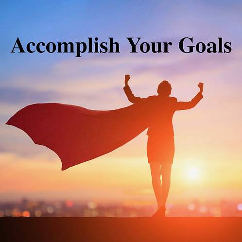 Accomplish Your Goals Video Hypnosis