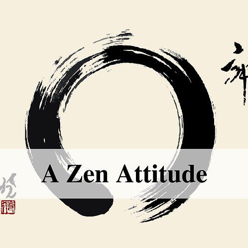 A Zen Attitude Video Hypnosis
