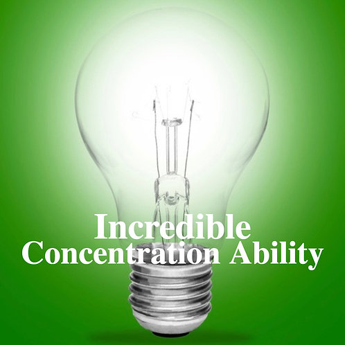 Incredible Concentration Video Hypnosis