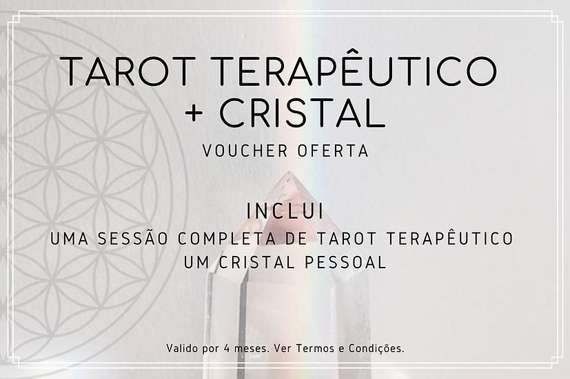 Sessão de Tarot Terapêutico + Cristal