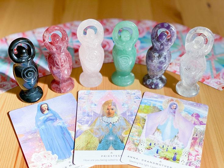 Deusas esculpidas