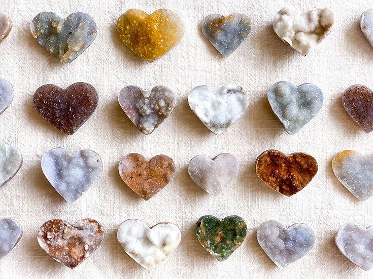 Corações de Calcedónia