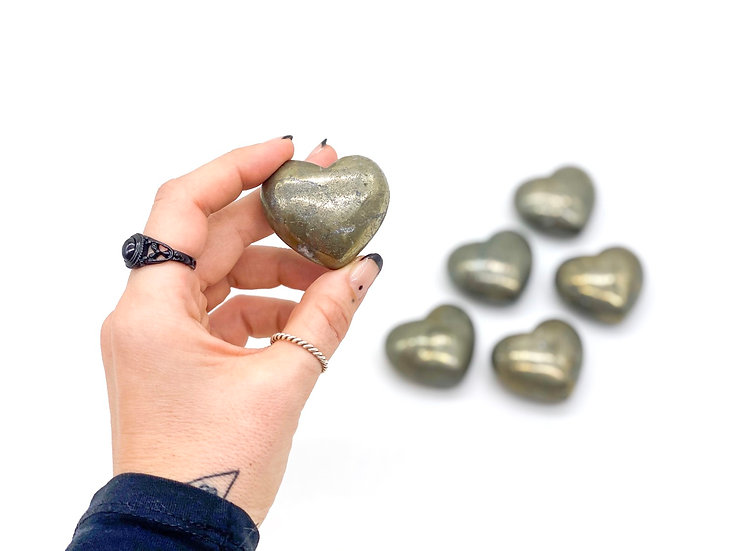 Corações de Pirite