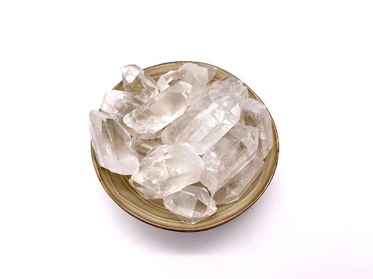 Pontas de Cristal de Quartzo
