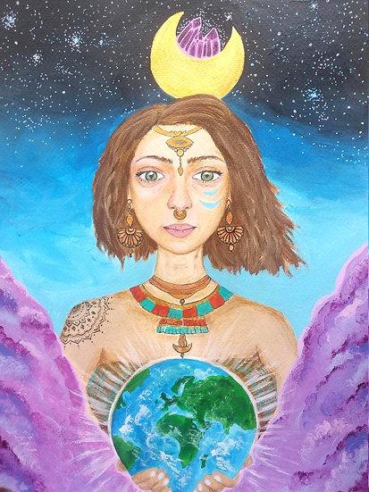 Ilustração ''Earth Goddess''