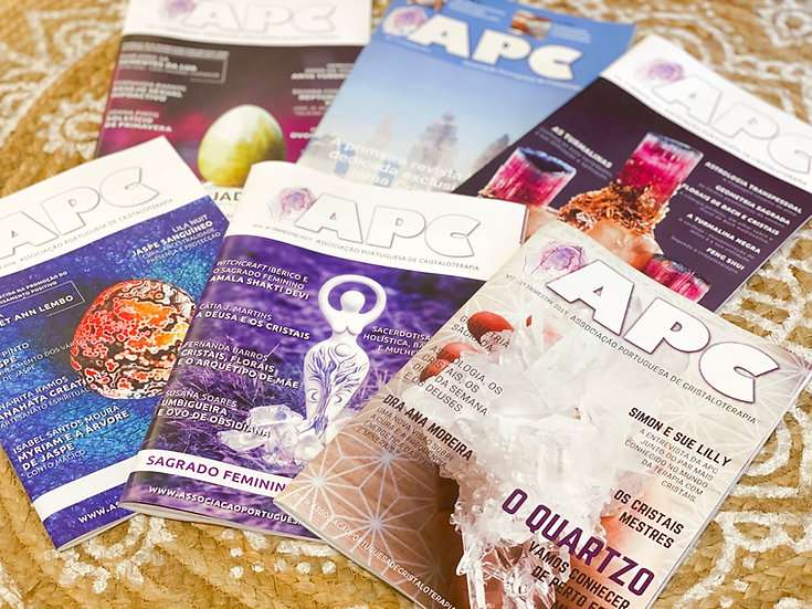 Revistas de Cristaloterapia