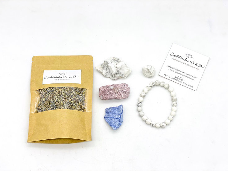 Set Ritual & Cristal - Calma