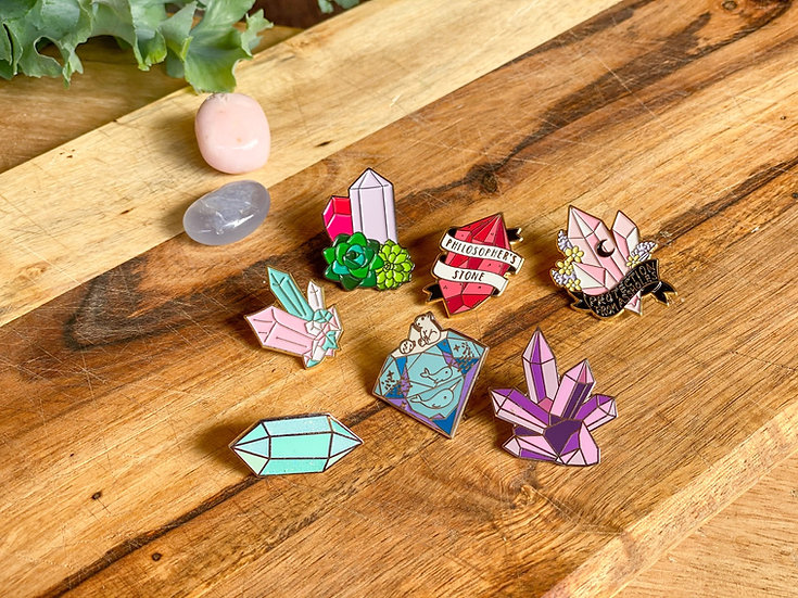 Pin Crystal Collection