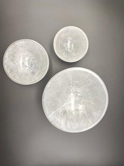 Taças de Selenite