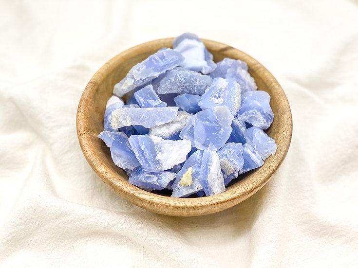 Ágata Azul Rendada