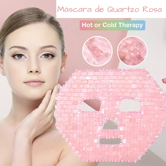 Máscara de Quartzo Rosa