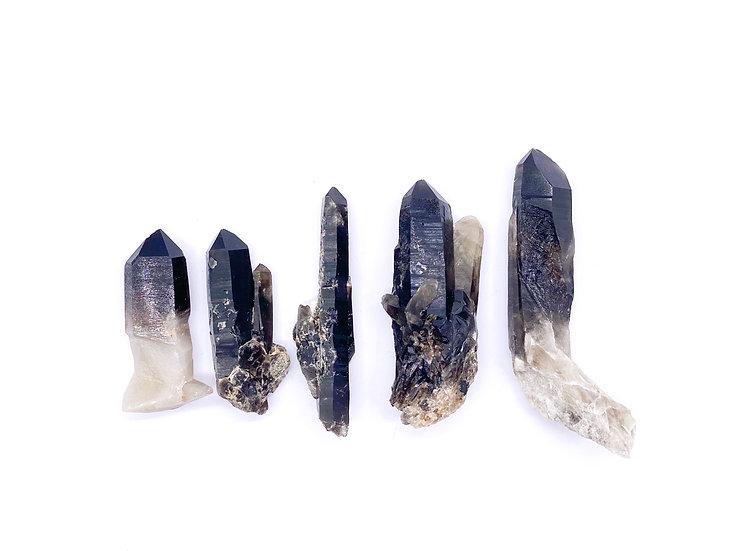 Morion (pontas cristalizadas)