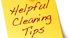 Tips to make cleaning your home easy!